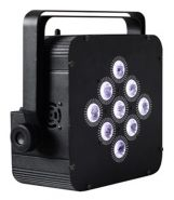 X98-41 FLAT BATTERY WIRELESS LED PAR